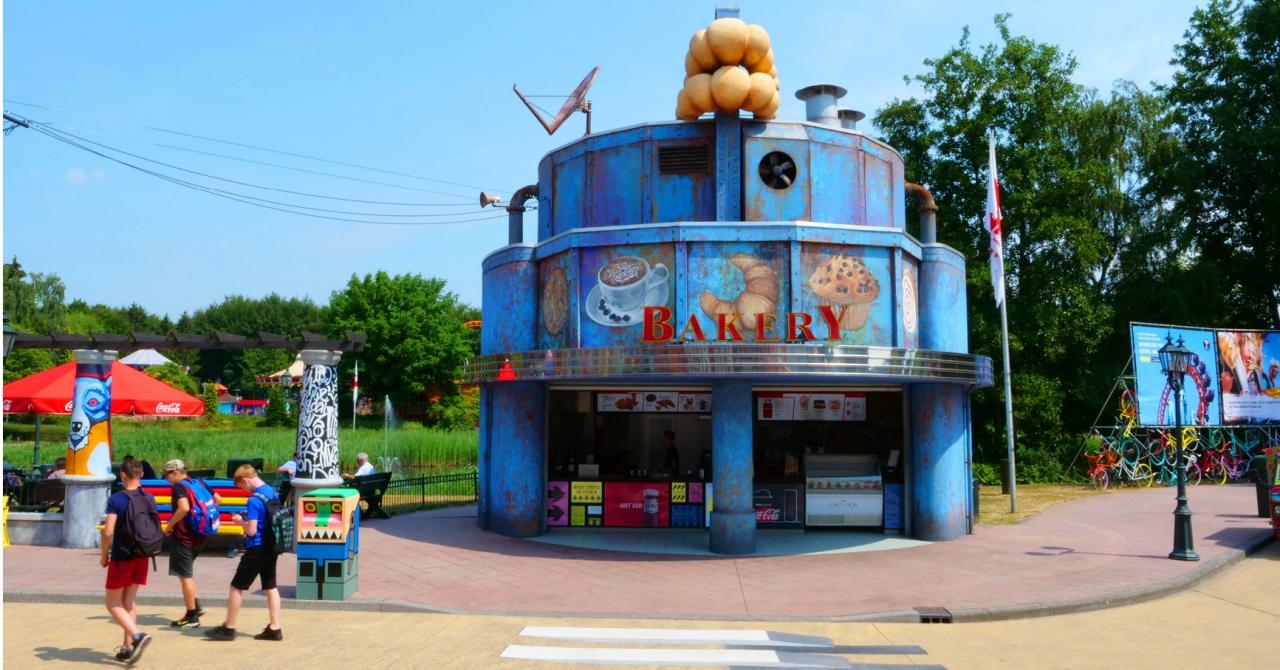 Pavillon De Thé Walibi Holland